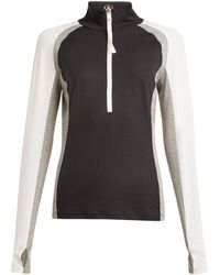 Bogner - Ryana Half-zip Stretch-jersey Mid-layer Top - Lyst