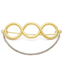 JW Anderson Twisted Pin Brooch