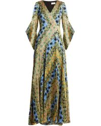 Peter Pilotto | Silk Maxi Dress | Lyst