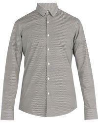 Fendi - Ff Print Cotton Shirt - Lyst