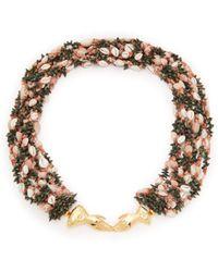 Heimat Atlantica - Marta Shell-embellished Necklace - Lyst