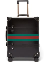 "Gucci - X Globe Trotter 15"" Web Stripe Carry On Suitcase - Lyst"