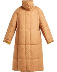 ROKSANDA - Maera Quilted Cotton Coat - Lyst