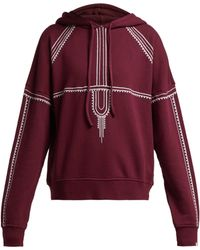 The Upside Phoenix Embroidered Cotton Sweatshirt