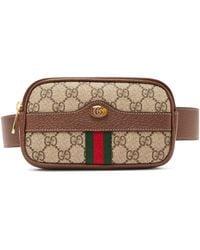 dedb48813727df Gucci - Ophidia Gg Supreme Iphone® Belt Bag - Lyst