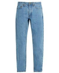 Saturdays NYC - Luke Straight-leg Denim Jeans - Lyst