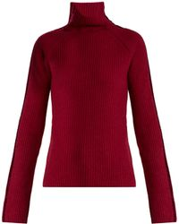 Haider Ackermann | Invidia Roll-neck Wool And Cashmere-blend Jumper | Lyst