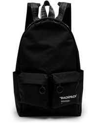 Off-White c/o Virgil Abloh - Quote Canvas Backpack - Lyst