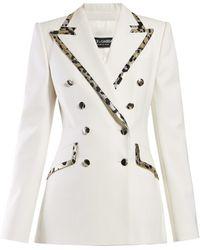 Dolce & Gabbana Wool Double-breasted Blazer