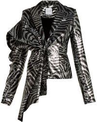 Halpern - Zebra Stripe Sequined Jacket - Lyst