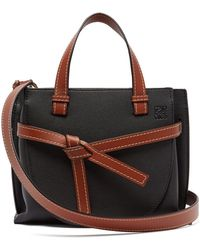 Loewe - Gate Grained-leather Cross-body Bag - Lyst