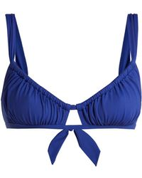 Three Graces London - Bridget Bikini Top - Lyst