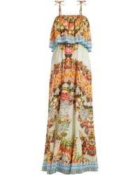 Camilla - Woman Slice Of Paradise Crystal-embellished Printed Gauze Maxi Dress Multicolour - Lyst
