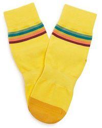 Paul Smith - Artist Stripe Cycling Socks - Lyst