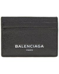 Balenciaga - Leather Cardholder - Lyst