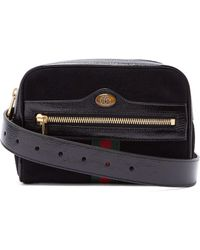 Gucci - Ophidia Suede Belt Bag - Lyst