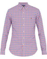 Polo Ralph Lauren - Checked Cotton Shirt - Lyst