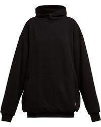 Balenciaga - I Love Techno Cotton Hooded Sweatshirt - Lyst