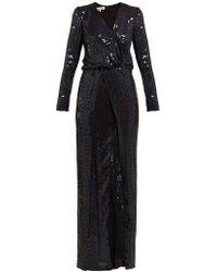 Galvan London - Vera Sequinned Dress - Lyst