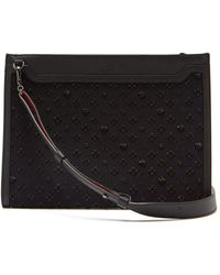 Christian Louboutin - Loubi In The Sky Leather Pouch - Lyst