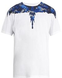 Marcelo Burlon - Camou Wing-print Cotton T-shirt - Lyst