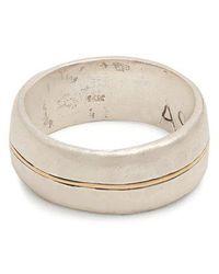 Aris Schwabe - Silver N' Gold Sterling-silver Ring - Lyst