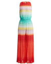 Missoni - Fish-scale Pattern Jumpsuit - Lyst
