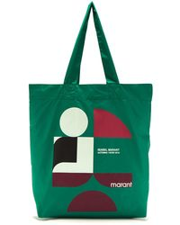 Isabel Marant - Woom Logo-printed Shopper Bag - Lyst