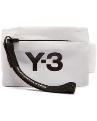 Y-3 - Logo Print Mini Wrist Pouch - Lyst