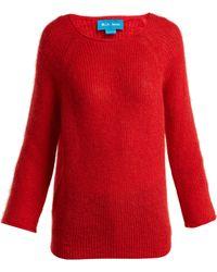 M.i.h Jeans - Bowen Boat Neck Mohair Blend Sweater - Lyst