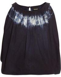 Rachel Comey - Antic Tie Dye Cropped Top - Lyst