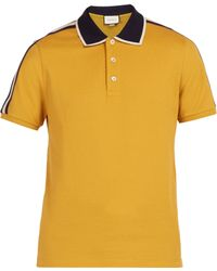 e89e775b43b mens gucci polo shirt sale Source · Lyst Men s Gucci Polo shirts Online Sale