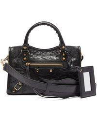 86bb7266a5 Balenciaga - Classic City Nano Leather Bag - Lyst