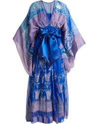 Zandra Rhodes - Archive Ii The 1973 Reverse Lilies Gown - Lyst