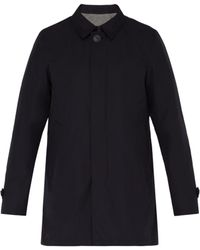 Herno - Byron Technical Overcoat - Lyst