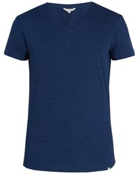 Orlebar Brown - Tailored-fit V-neck Cotton T-shirt - Lyst