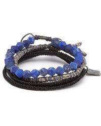 M. Cohen - The Create Stack Ii Bead-embellished Bracelet - Lyst