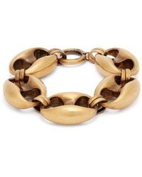 Balenciaga - - Exaggerated Chain Bracelet - Womens - Gold - Lyst