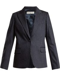 Golden Goose Deluxe Brand - Venice Pinstripe Tailored Jacket - Lyst