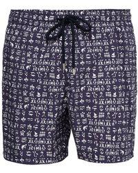 Vilebrequin - Moorea Turtle Print Swim Shorts - Lyst