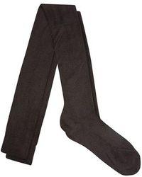 Raey - Over-the-knee Silk Socks - Lyst