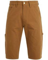 Junya Watanabe | X Carhartt Contrast-pocket Cotton-duck Shorts | Lyst