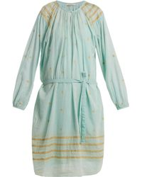 Mes Demoiselles - Tenerife Embroidered Cotton Dress - Lyst