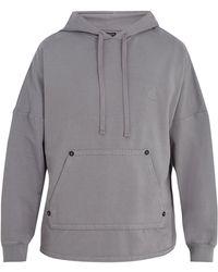 True Religion - Buddha-print Cotton Hooded-sweater - Lyst