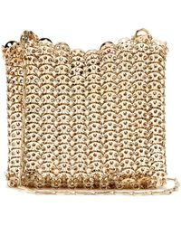 Paco Rabanne - Iconic Small Chain Shoulder Bag - Lyst