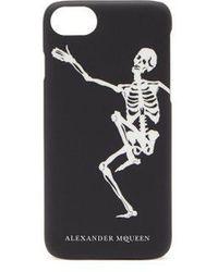 Alexander McQueen - Dancing Skeleton Phone Case - Lyst