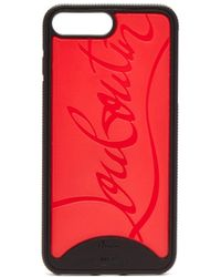 Christian Louboutin - Loubiphone Rubber Iphone 8+ Case - Lyst