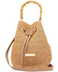 Heidi Klein - Savannah Bay Bamboo Mini Bucket Bag - Lyst