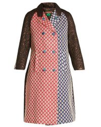 Duro Olowu - Patchwork-brocade Double-breasted Coat - Lyst