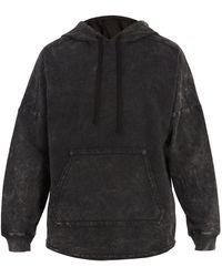 True Religion - Void Tactics Washed-cotton Hooded Sweatshirt - Lyst